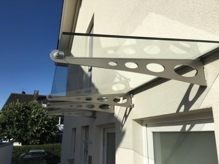 Metallbau Neb Heilbronn Vordach Glas Edelstahl 2