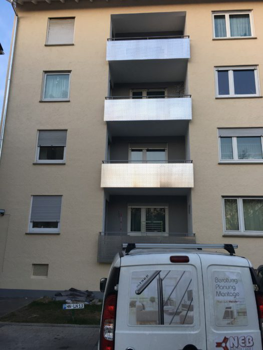 Metallbau Neb Balkon Sanierung aus alt mach neu 2